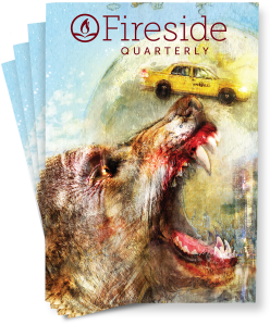 "Fireside Quarterly ""The Fare"" cover"